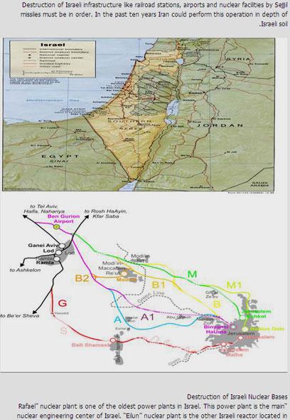 מפות של ישראל שהופיעו בבלוג
