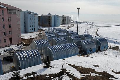 הכפר הישראלי בטורקיה (צילום: אריאל חרמוני, משרד הביטחון)