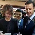 Asma and Bashar Assad vote in last week's referendum Photo: Reuters