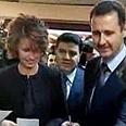 Asma and Bashar Assad vote in last week's referendum Photo: Reuters