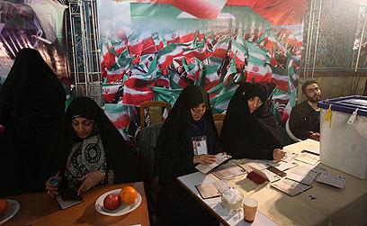 קלפי באיראן (צילום: MCT)