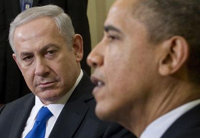 """""""נתניהו צריך להפנים - אובמה לא אוהב שמכניסים אותו לפינה"""" (צילום: AFP)"""