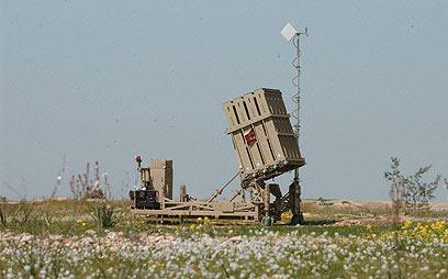 כיפת ברזל בבאר שבע (צילום: הרצל יוסף)