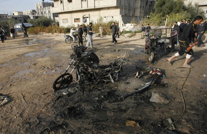 IAF strike in Rafah (Photo: AFP)