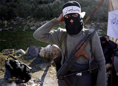 מורד סמוך לאידליב (צילום: AFP)