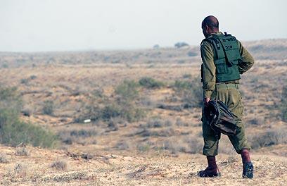 גששים בגבול מצרים (ארכיון) (צילום: אליעד לוי)