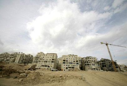 500 יחידות נוספות בהר חומה בירושלים (צילום: רויטרס)