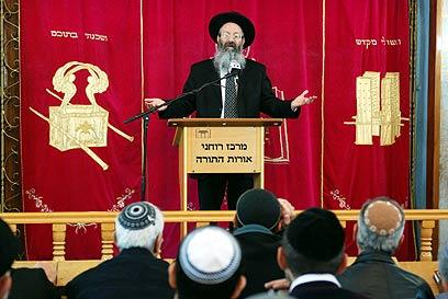 לתמוך במי שתומכים בשיבת ישראל לארצו. הרב מלמד (צילום: מתי אלמליח)