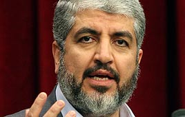 Khaled Mashaal (Photo: AFP)