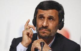 Iranian President Mahmoud Ahmadinejad (Photo: Reuters)