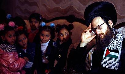 Neturei Karta Spend Shabbat In Gaza