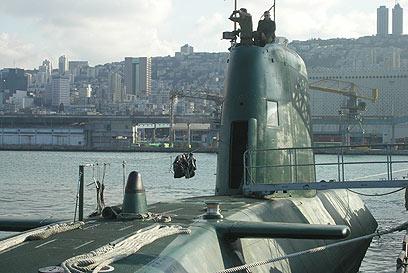 FDI submarino en Haifa (Foto: Oficina del Portavoz de las FDI)