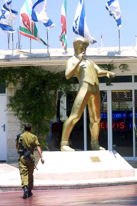 Holy Land Jailhouse rock: Elvis Presley tour comes to Israel