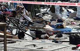 Scene of terror attack (Photo: Ofer Amram)