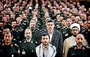 Mahmoud Ahmadinejad and top officials, officers (Archive photo: Reuters)
