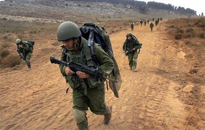 Soldati israeliani nel sud del Libano