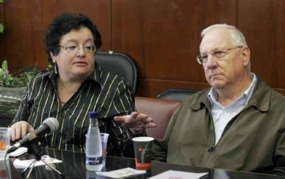בוועדת העלייה והקליטה ב-2006  (צילום: חיים צח)