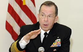 Admiral Mike Mullen, chairman of the US Joint Chiefs of Staff (Photo: Mati Stern, US Embassy)