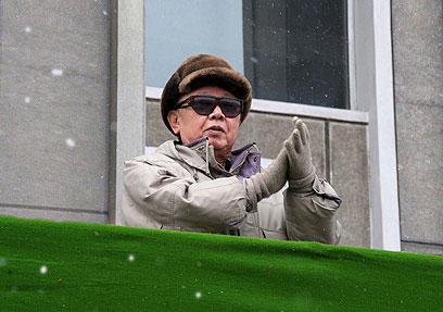 קין ג'ונג איל. בצפון קוריאה מדווחים על אבל כבד (צילום: AFP)