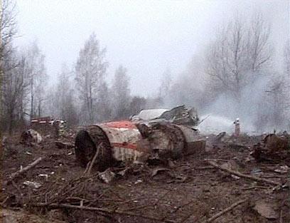 הרוסים האשימו את הצוות הפולני בניסיון להנחית את המטוס בערפל כבד (צילום: רויטרס)