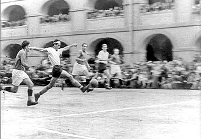 Association football during World War II