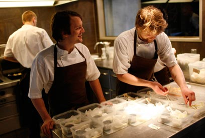 מבינים דבר או שניים באוכל טוב. מסעדת נומה שבדנמרק (צילום: רויטרס)