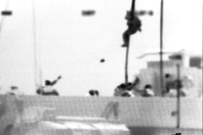 Terrorist ambush on deck (Photo: IDF Spokesman's Office)