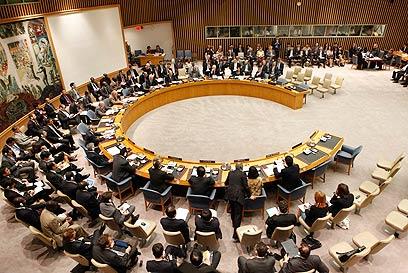 מועצת הביטחון מצביעה על סבב הסנקציות הרביעי. יוני 2010 (צילום: רויטרס)