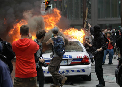 Disgraceful Scene in Toronto