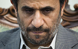 Iranian President Mahmoud Ahmadinejad (Photo: Reuters)