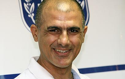 דורון שזירי. ייצג את ישראל בקליעה במשחקים הפראלימפיים (צילום: אורן אהרוני)