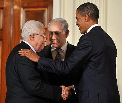 ניסיונות גישור בבית הלבן (צילום: AFP)