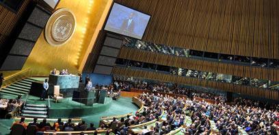 """אובמה נואם באו""""ם. צפוי להטיל וטו"""