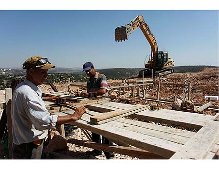 Construction in settlements