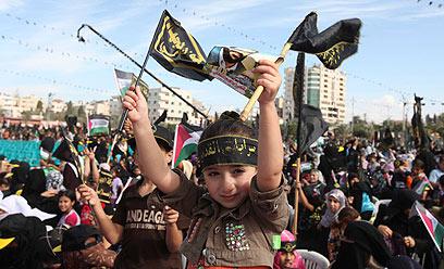 תומכי הג'יהאד האיסלאמי. עידוד מאיראן לפעול עכשיו (צילום: רויטרס)