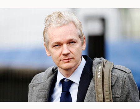 Julian Assange Photo:Reuters
