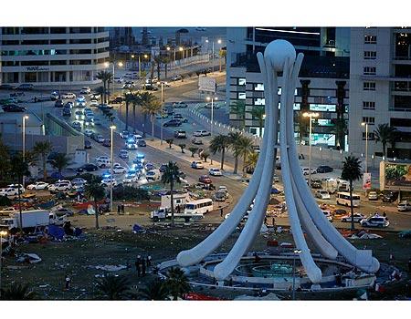 Bahrains Capital Manama Photo Reuters