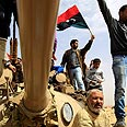 Libyan demonstrators capture tank