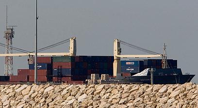 """האונייה """"ויקטוריה"""". השתתף גם בהשתלטות עליה (צילום: AP)"""