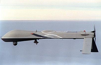 """מטוס ללא טייס """"פרדטור"""". ישראלי המציא, ה-CIA משתמש (צילום: AFP   )"""