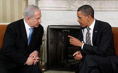 אובמה ונתניהו בפגישתם האחרונה בבית הלבן (צילום: רויטרס)