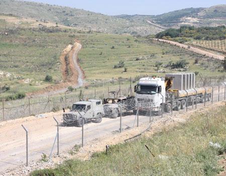 Syrian border Photo: George Ginsburg