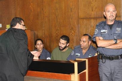 הייתה בעיה בהגה ובגלגלים. עיסא איסלאם בבית המשפט (צילום: עופר עמרם)