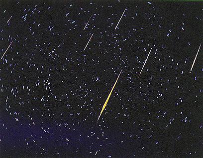 """כולם רוצים לראות """"כוכבים נופלים"""". ארכיון (צילום: נאס""""א)"""