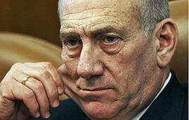PM Ehud Olmert (Photo: Reuters)