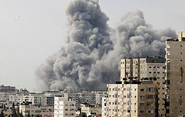 IAF strike in Gaza (Photo: AP)