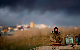 Soldier in Gaza (Photo: Reuters)