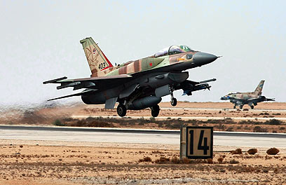 """אף-16 ישראלי. דו""""ח הקונגרס הוא אוצר בלום של מידע (צילום: gettyimages)"""