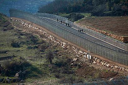 גבול ישראל-סוריה (צילום: רויטרס)