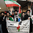 Neturei Karta members during Land Day march Photo: Reuters